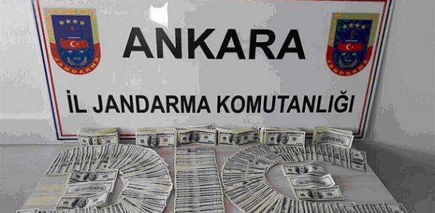 Şok ! Ankara'da sahte 137 bin dolar ele geçirildi !