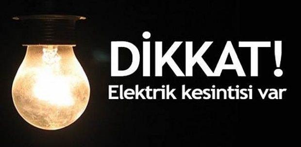 Dikkat! 6 Mart 2017 Pazartesi Ankara elektrik kesintisi!
