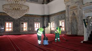 Temizlik Tüm Hızıyla Ramazanda da Sürüyor